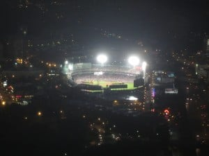Fenway Park from the Prudential Tower