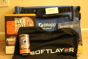Swag from HostingCon