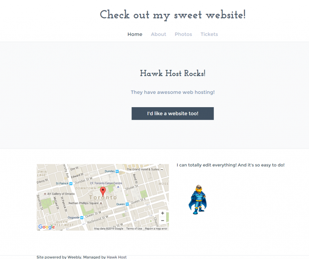 Create a Better Site with Weebly: It's Free, It's Easy, It's Built