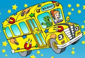 Oh no! Not the school bus!